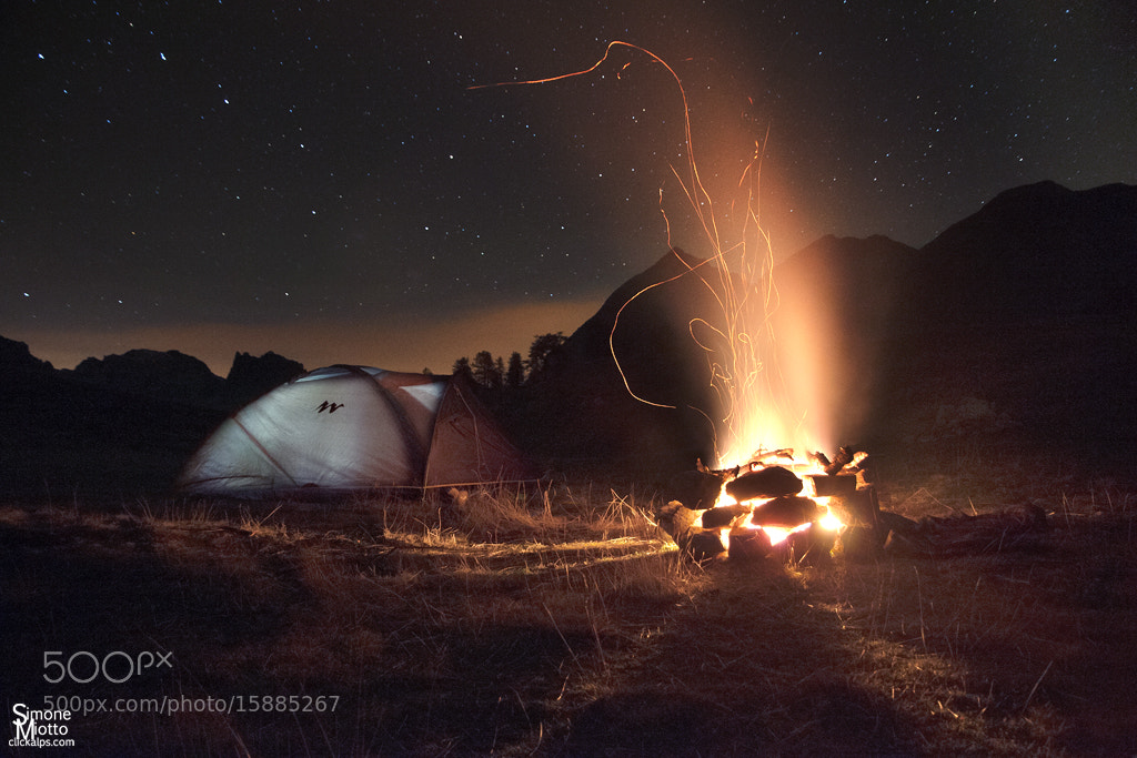 Photograph Camping under the stars  by Simone Miotto on 500px