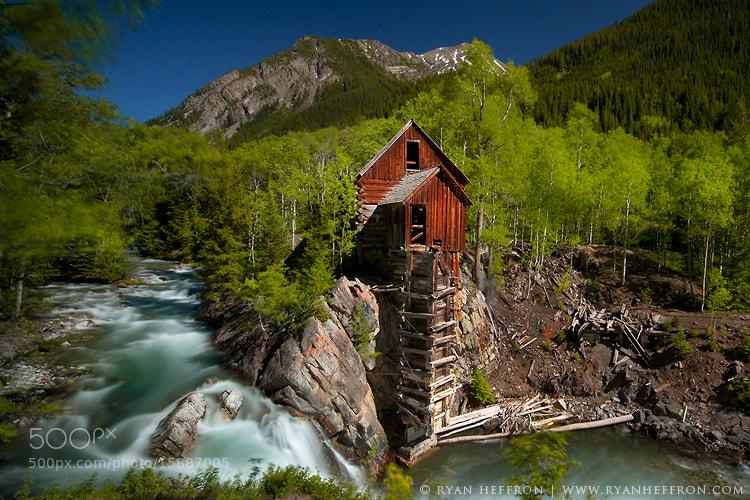 Photograph Crystal Mill II by Ryan Heffron on 500px