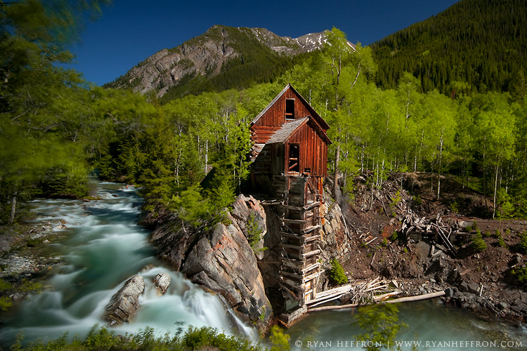 Photograph Crystal Mill II by Ryan Heffron on 500px