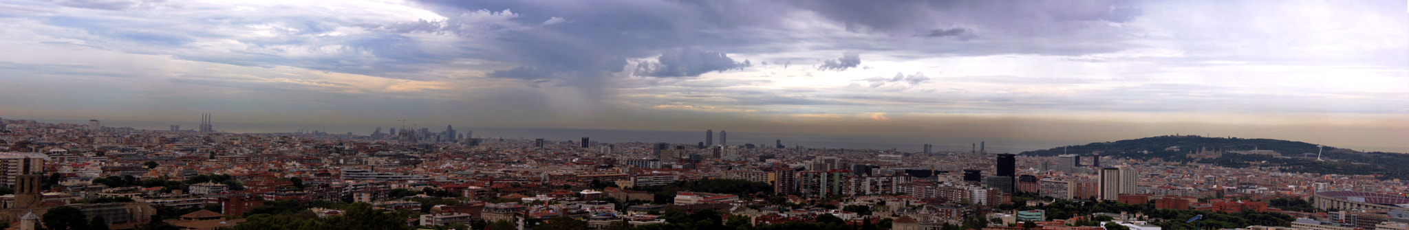 Photograph Barcelona Panorama by A J on 500px