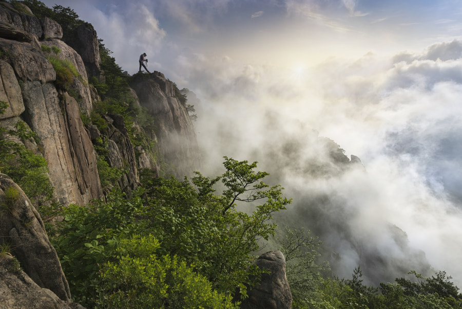 On the Mountain by jae youn Ryu on 500px.com