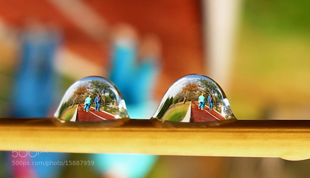Photograph drop refections by tugba kiper on 500px
