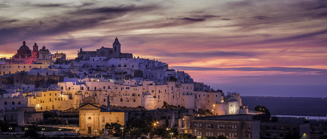Ostuni - Italy - Sunset by Janet Weldon on 500px