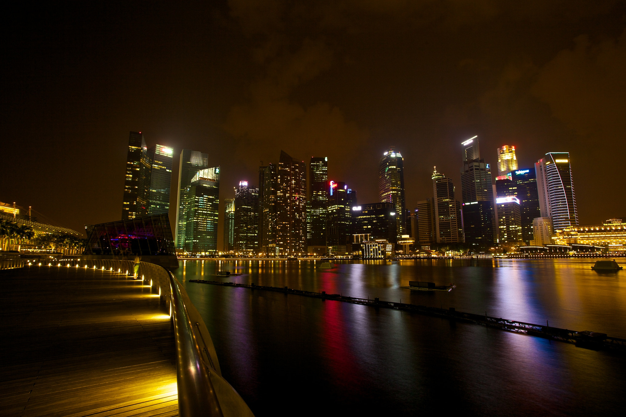 Photograph Singapore City Skyline by Sean Cheng on 500px