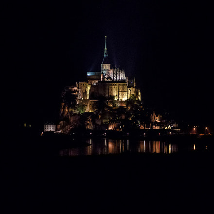 Mont saint Michel by, Pentax K-3, smc PENTAX-DA 17-70mm F4 AL [IF] SDM