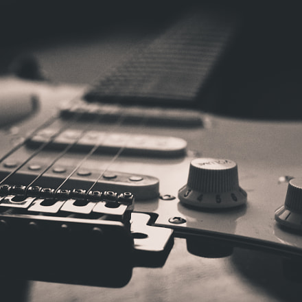 Guitarra, Sony NEX-7, Sony DT 50mm F1.8 SAM (SAL50F18)