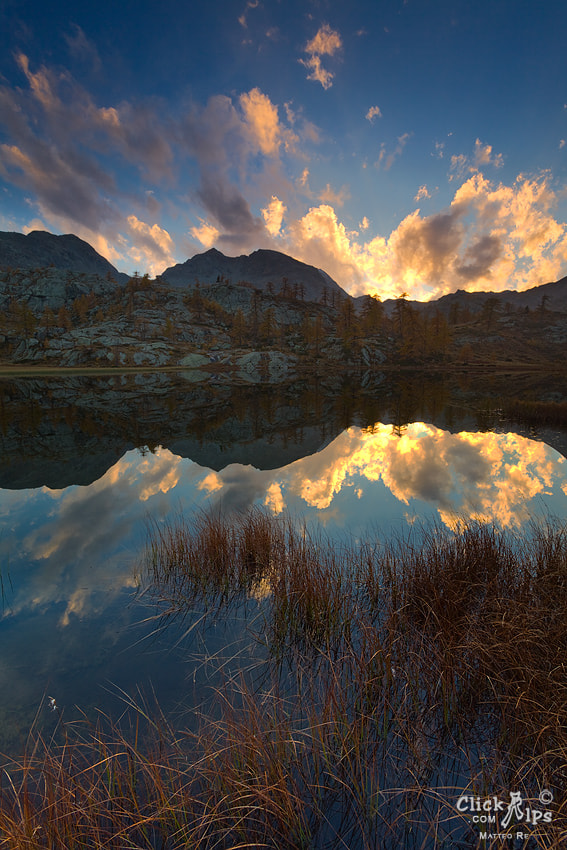 Photograph Lac Vallette by Matteo Re on 500px