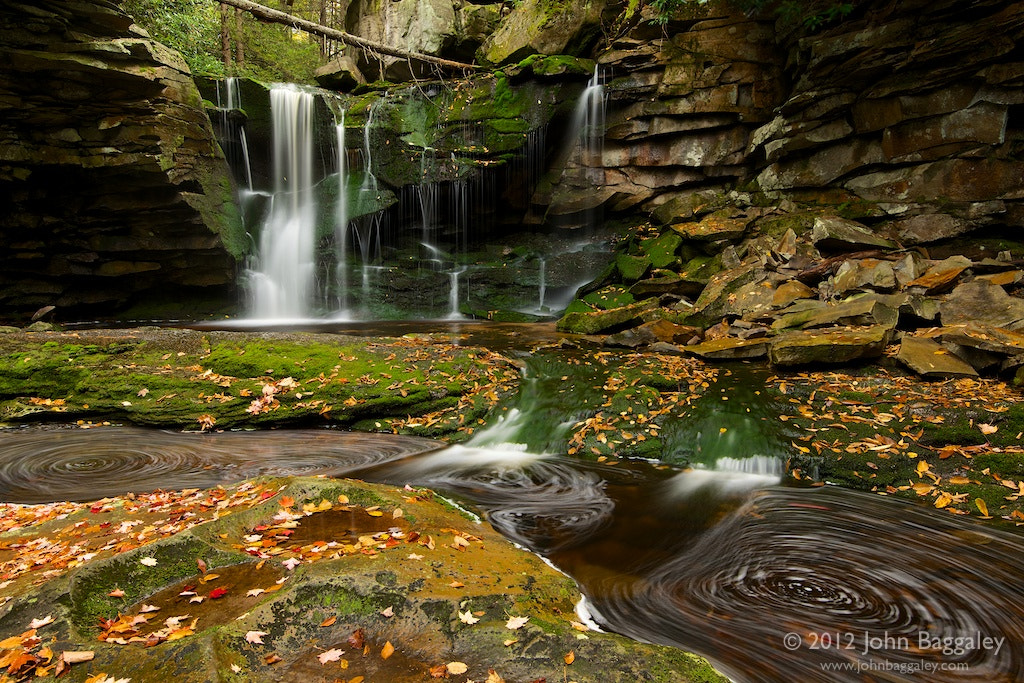 Photograph Autumn at the Falls of Elakala by John Baggaley on 500px