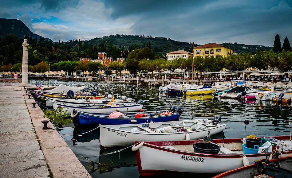 Photograph Lake Garda Harbour by Sam Smallwoods on 500px