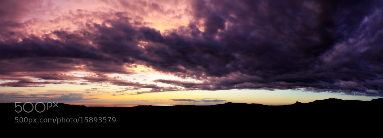 Photograph Sunset panorama #14 by Davide  Carovana on 500px