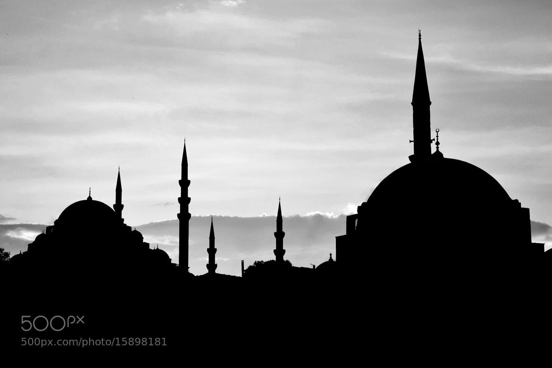 Photograph Istanbul Silhouette by Murat Ekmen on 500px