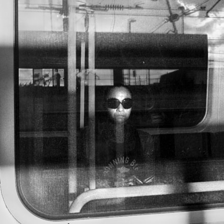 Passenger at Bowen Hills, Fujifilm X100, Built-in lens