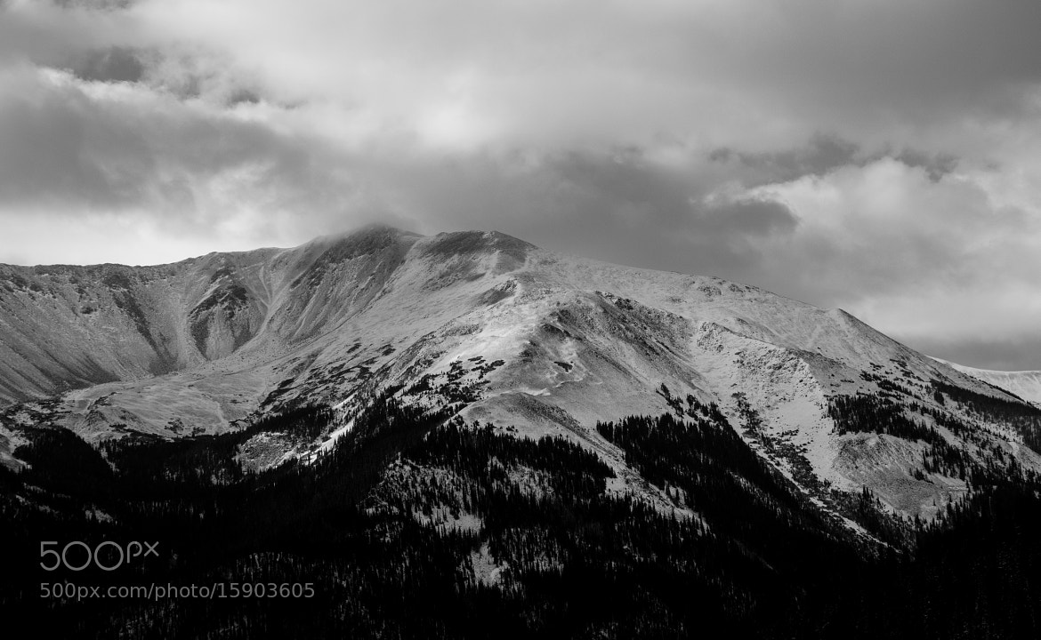 Photograph Snow Covered Peak by Ryan Losey on 500px