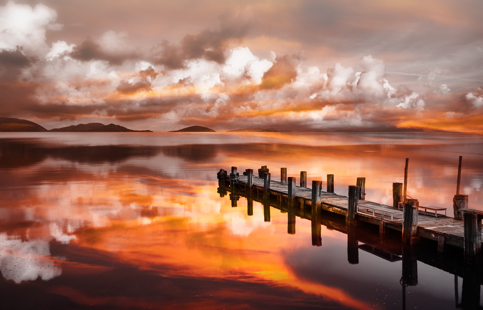 Photograph Sunset Pier by Marco Carmassi on 500px
