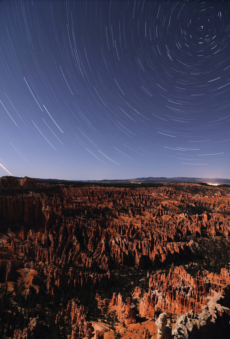 Photograph Bryce Canyon - Startrails by Iliyan  on 500px