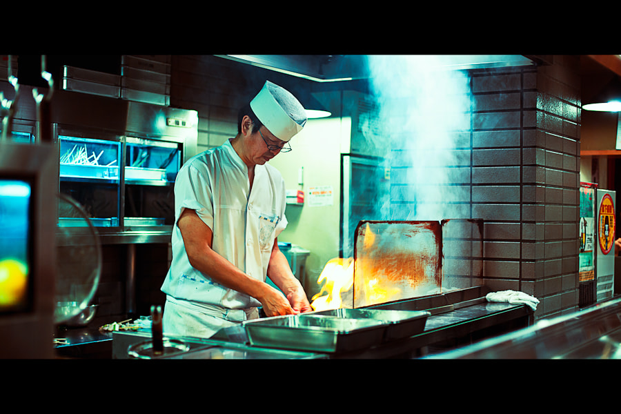 Photograph Yakitori on the way by Loic Labranche on 500px