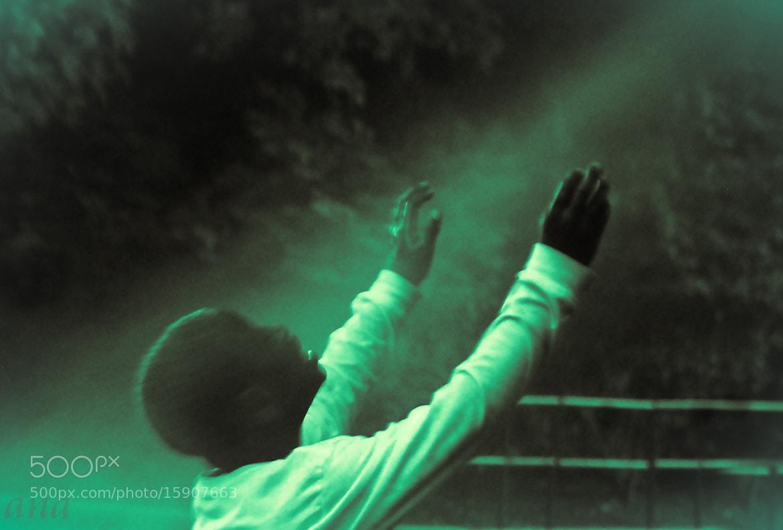 Photograph Not praying But playing by Aruna Dangol on 500px