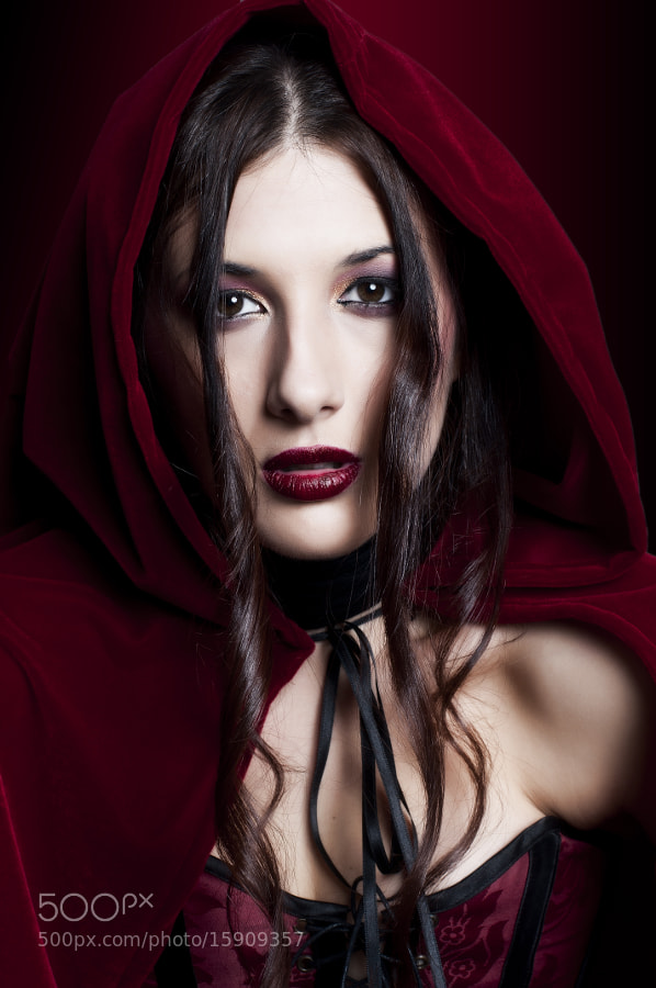 Little Red Riding Hood by Xavi Serrano (Xavikun)) on 500px.com