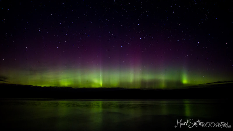 Photograph Northern Lights seen from Isle of Mull, Scotland by Mark Smith on 500px