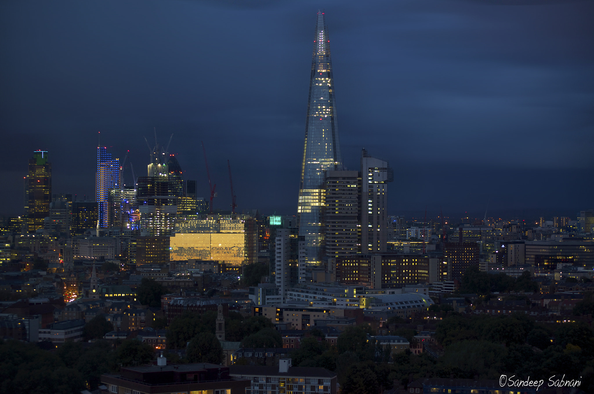 Photograph Sunset in London by Sandeep VS on 500px