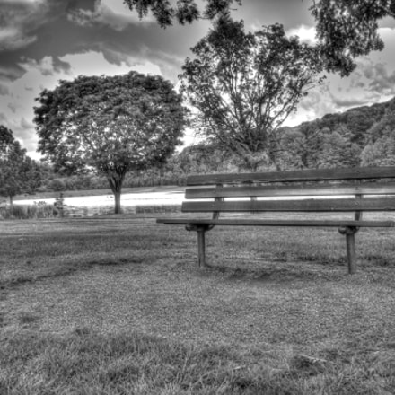 The Lonely Bench, Canon EOS REBEL T3, Sigma 10-20mm f/4-5.6