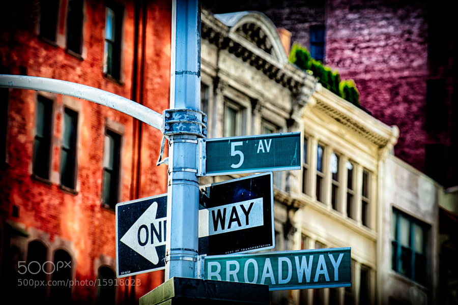 Photograph At an intersection by Richard Harrington on 500px