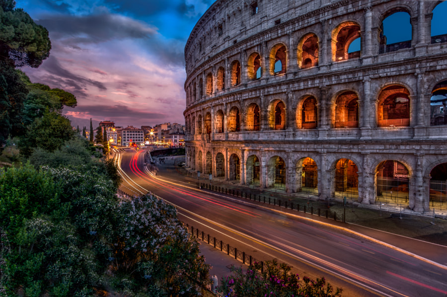 Colosseum (Flavian Amphitheatre) by Robert Schmalle on 500px.com