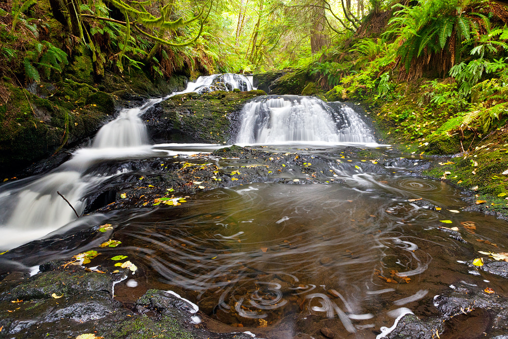 Photograph Ludlow Falls, Port Ludlow by Kyle Mahoney on 500px