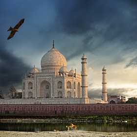 the banks of the Yamuna river by piet flour (pietflour)) on 500px.com