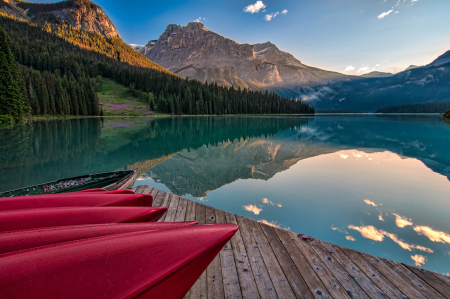 Red Canoe View by James Wheeler on 500px.com