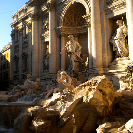 Trevi Fountain., Nikon COOLPIX S203