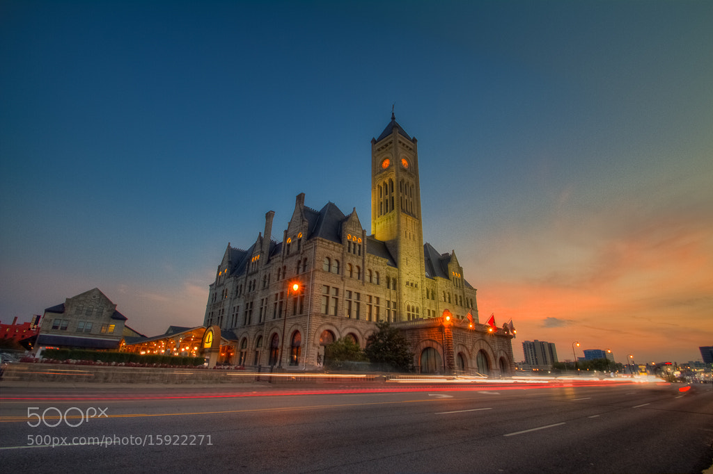 Photograph Union Station Nashville Tennessee by Chriss Goyenechea on 500px
