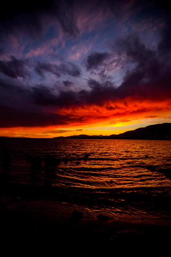 Dramatic Sky from Vancouver by John Entwistle on 500px.com