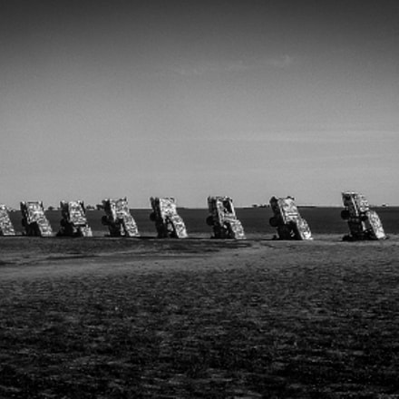 cadillac ranch, Fujifilm FinePix 3800