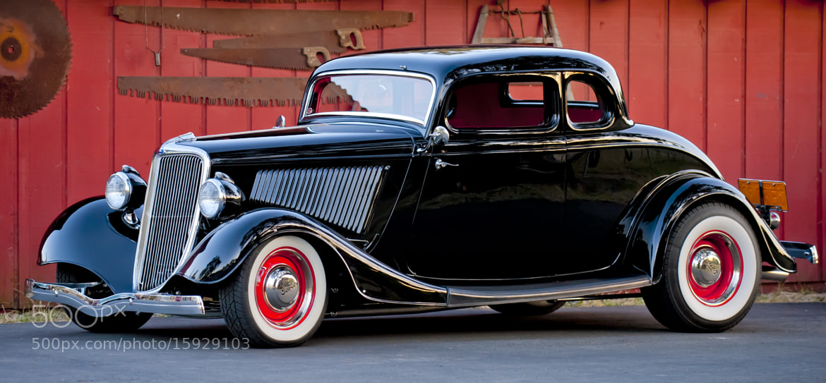 Photograph 1934 ford 5 window coupe by richard small on 500px for 1934 ford coupe 5 window