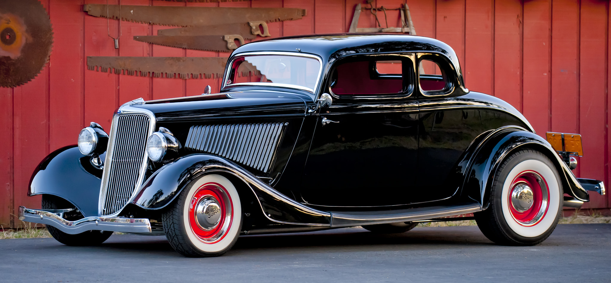 Photograph 1934 Ford 5 Window Coupe by Richard  Small on 500px