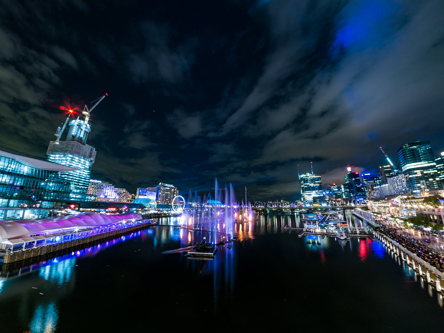 Vivid Sydney 2016 Darling Harbour by Travis Chau on 500px.com