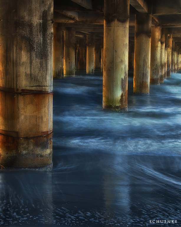 Photograph Under the Pleasure Pier by Steve Schuenke on 500px
