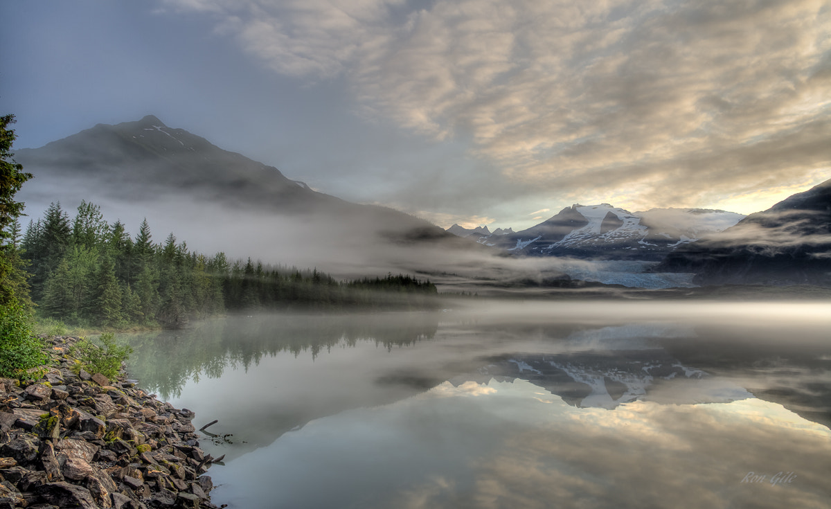 Photograph Foggy Morning at the Mendenhall Glacier by Ron Gile on 500px