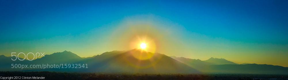 Photograph Wasatch Daybreak  by Clinton Melander on 500px