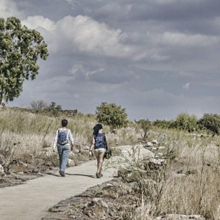 "[136] Madre e Hija - Reserva Natural de Gamla, Israel (32°54'19.85""N, 35°44'43.31""E)"