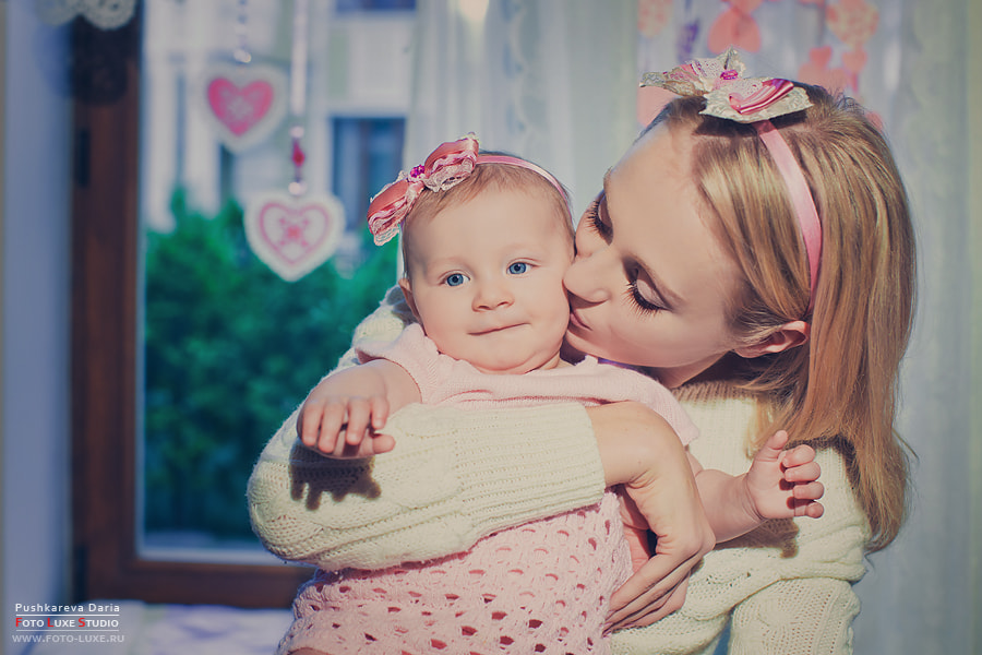 Photograph Eva with her mother by Daria Pushkareva on 500px