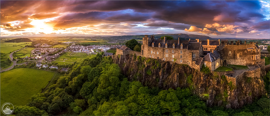 Burning Castle by Stefan Forster on 500px.com