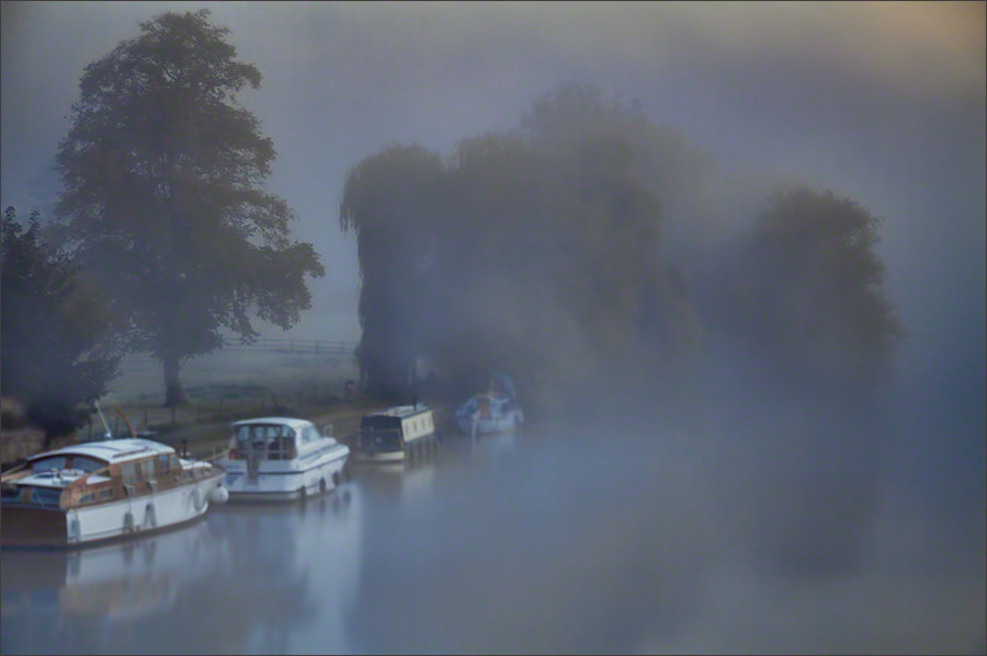 Photograph Foggy Dawn, River Thames by Andrew Barrow ARPS on 500px