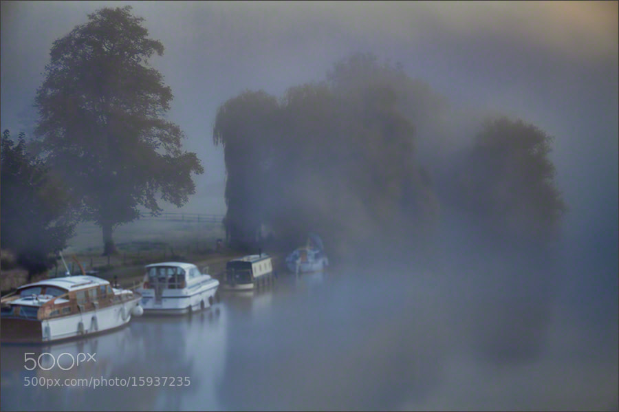 Photograph Foggy Dawn, River Thames by Andrew Barrow LRPS on 500px