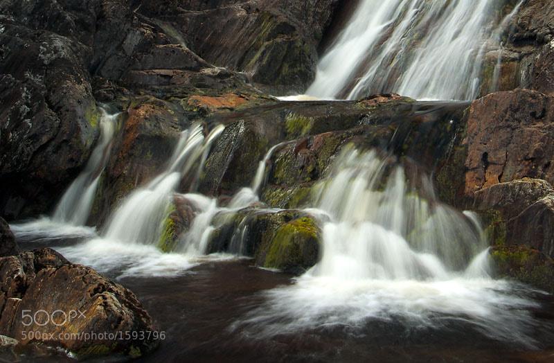 Wyvis Waterfall, Ross-shire, Scottish Highlands