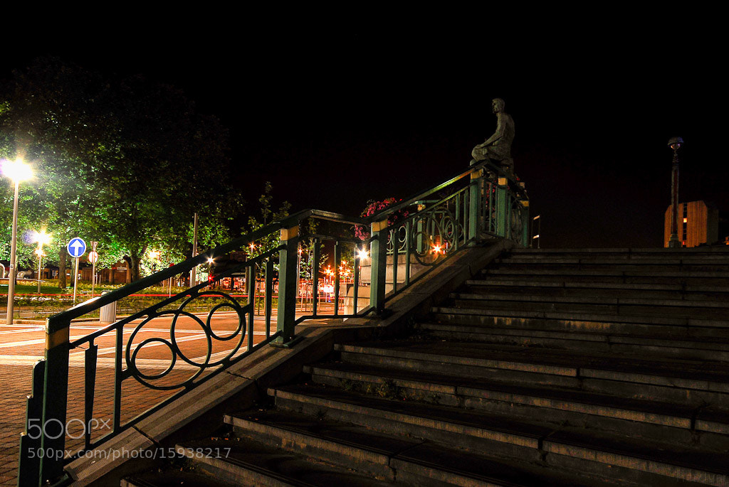 Photograph Stairs at Charleroi Train Station by Hero Varney on 500px