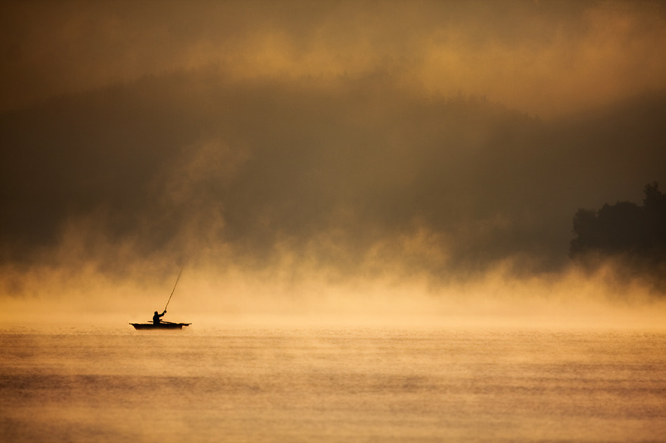 Photograph Morning fishing by Marcin Sobas on 500px