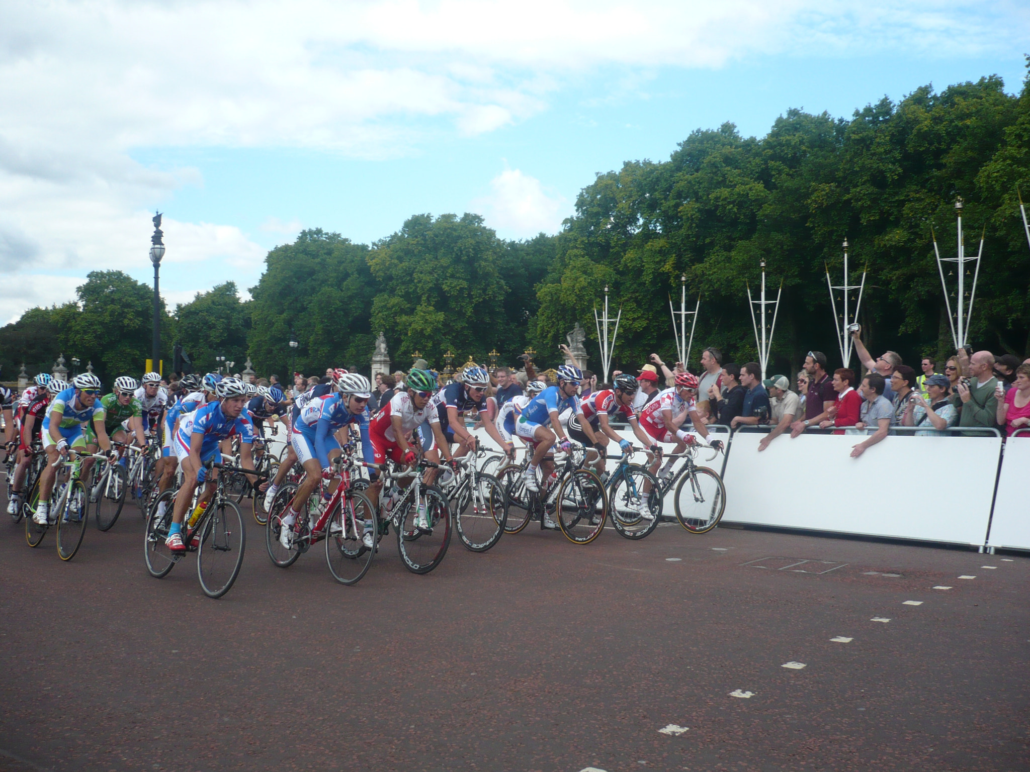 Photograph London Surrey Cycle Classic Peloton Finish by Robert Hayes on 500px