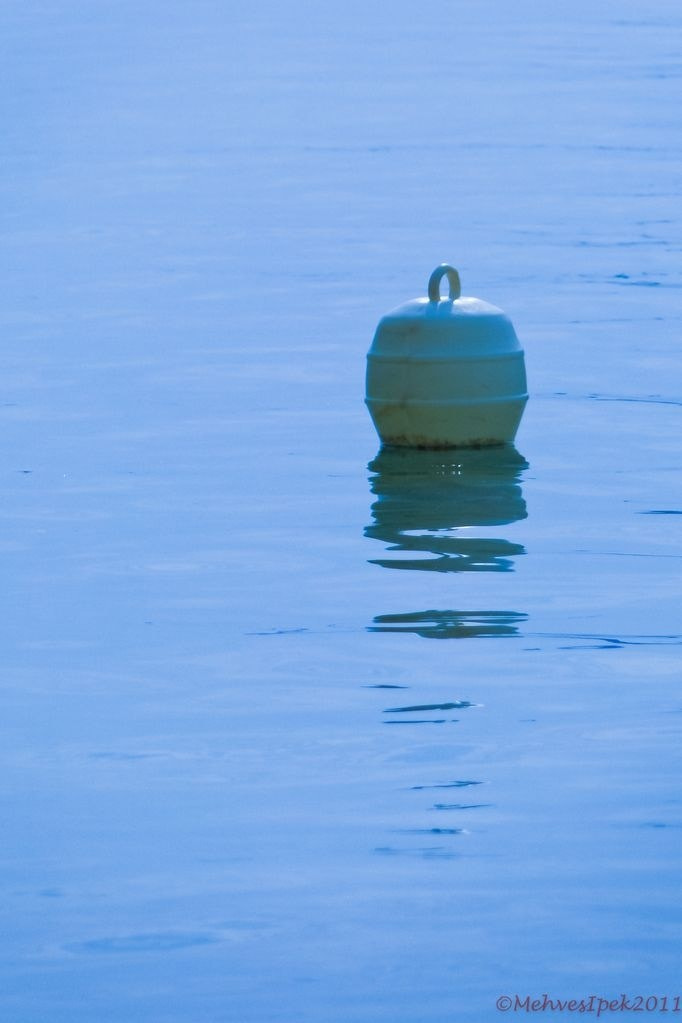 Photograph Buoy in Blue by Mehves Ipek on 500px